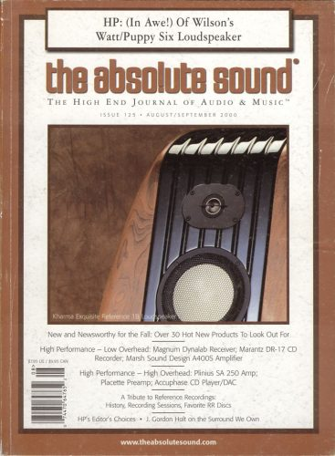 Kharma cover story The Absolute Sound