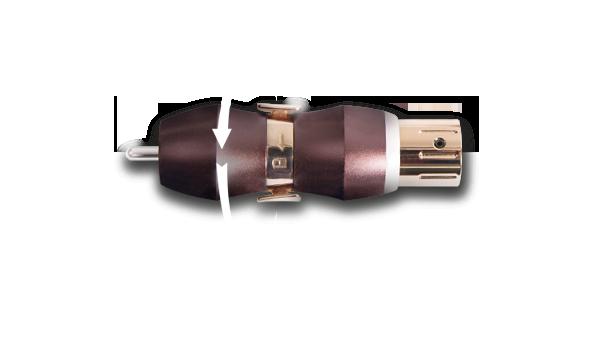 RCA cable plug
